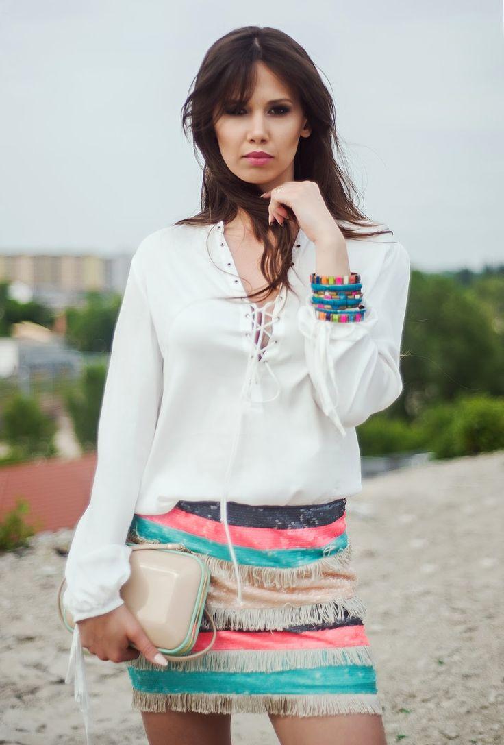 white plait blouse | My White Sugar