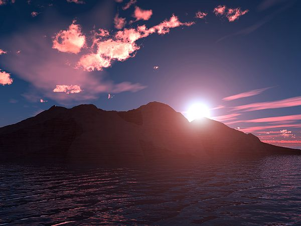 "Bildwerk ""Sunset"""