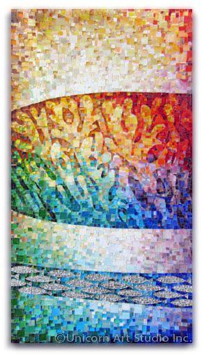 Mosaic Coral From Serries Coral Reef By Angele Hanansen