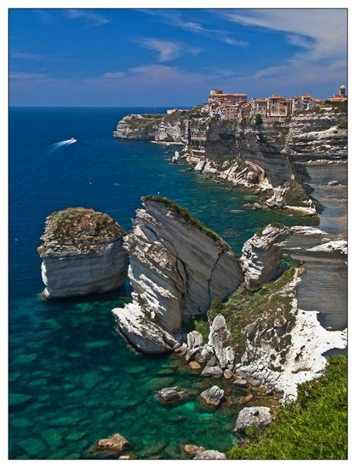 You are here.    besttravelphotos:    Bonifacio, France    (via fieryorchid)