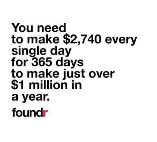 #makingamillion