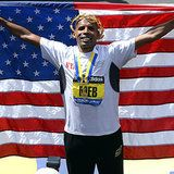 Meb Keflezighi: the First American Men's Winner of the Boston Marathon in 31 Years  See more diet and fitness tips here... http://skinnyu.net