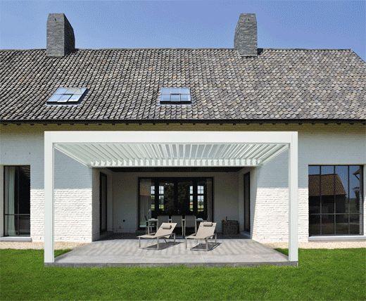 Moderne design pergola zonwering