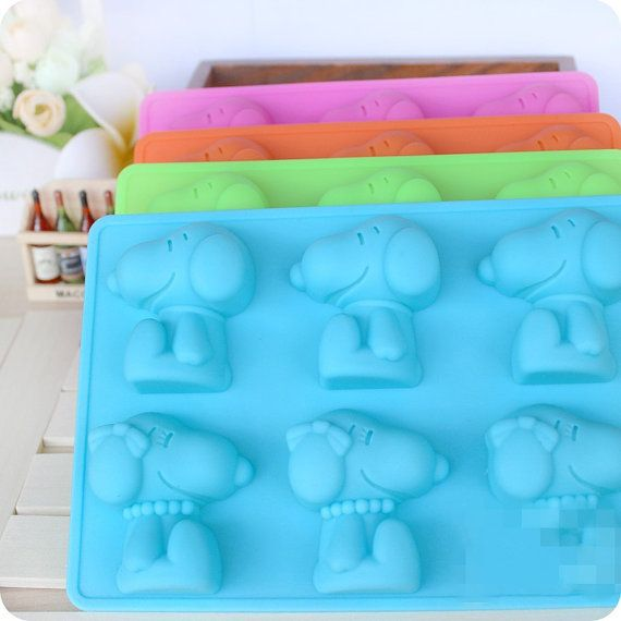 Snoopy Cake Mold Flexible Silicone Soap Mold For by diyhappyending
