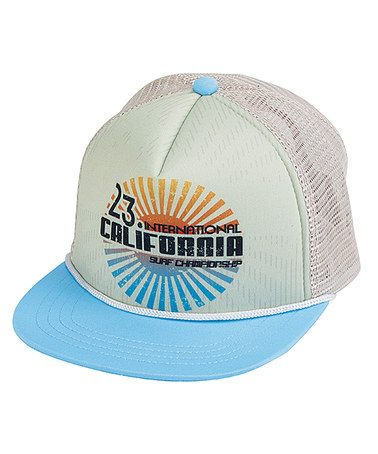 Look what I found on #zulily! Blue 'California Surf Championship' Trucker Hat by San Diego Hat Company #zulilyfinds