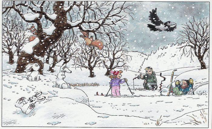 talvi piirros - Google-haku