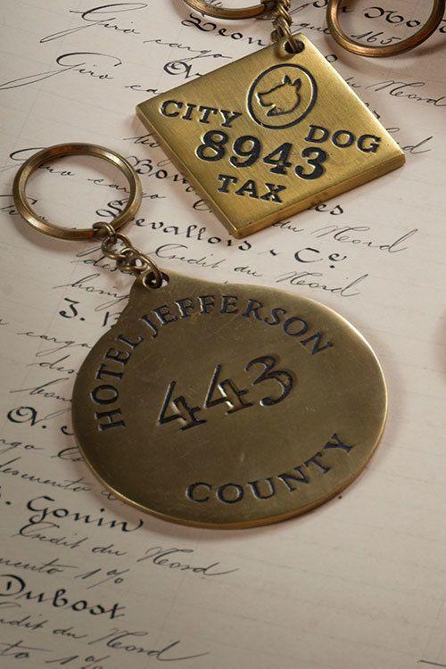 Mothology.com - Large Brass Hotel Key Chain , $15.95 (http://www.mothology.com/large-brass-hotel-key-chain/)