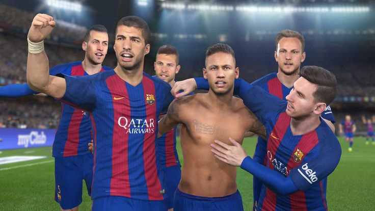 PES 2017: Konami annuncia la partnership con il Barcellona - immagini e video