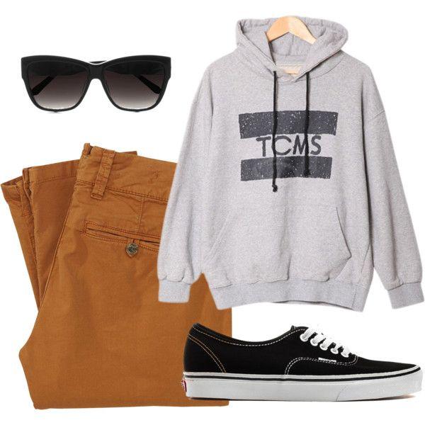 U0026quot;swagu0026quot; by sophilandgraf on Polyvore glasses nice clothes color amazing vans shoes pretty ...