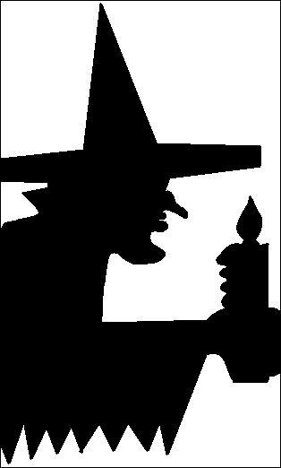 heksenslinger vouwen en knippen