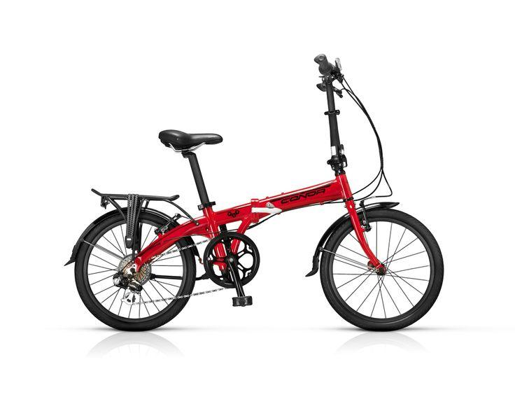 "Bicicleta Plegable Conor Fly 20"" rojo. http://www.bicicentral.com/index.php/bicicletas/bicicletas-plegables/conor-fly-478.html"