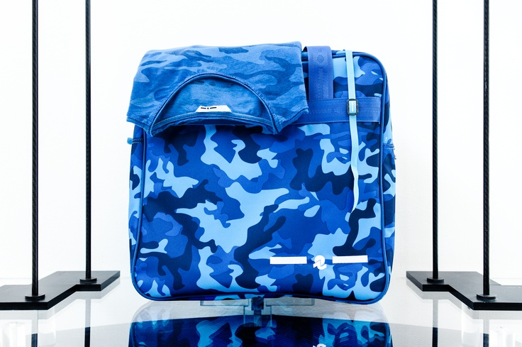 I-I Blue Look: Invicta+I-Tag+I-T-shirt Camo