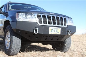Rock Hard 4x4 Patriot Series Front Bumper for Jeep Grand Cherokee WJ 1999 - 2004 [RH-7052]