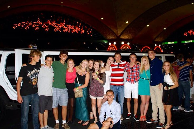 Fab limo ride in Vegas!