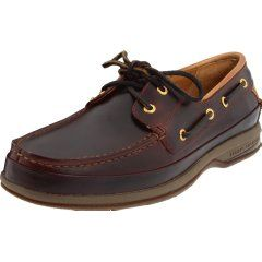 Featuring hand-sewn premium leather uppers and luxurious Lambskin inner lining these gorgeous Men's Boat Shoes are as good looking as they are comfortable.  Plus the proprietary non-slip sole make this one of the very best boat shoes for men.