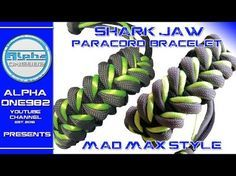 How To Tie The Mad Max Shark Jawbone Bracelet! - YouTube
