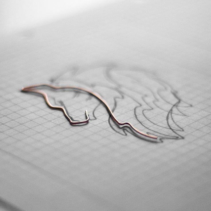 Wire art - wolf... work in progress Instagram @springstring