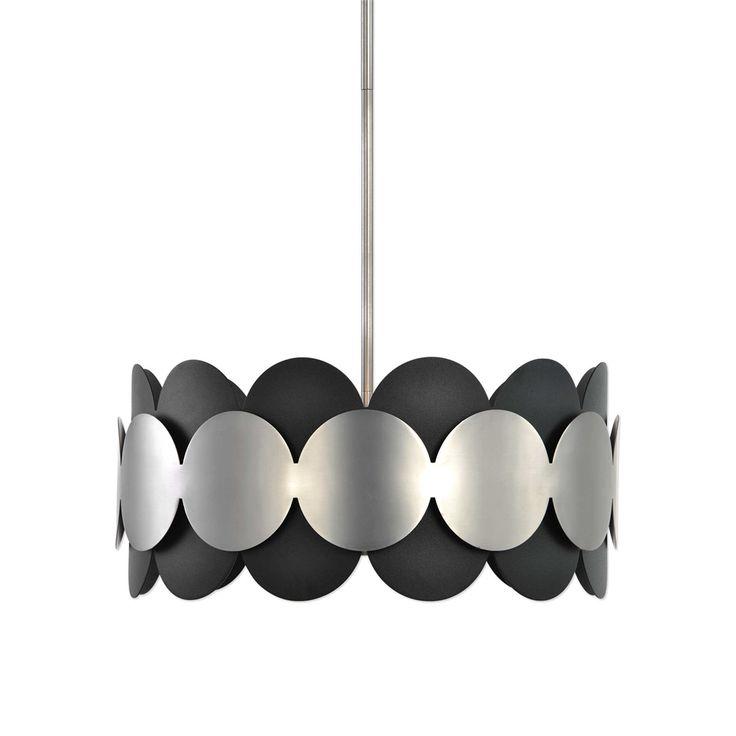 Uttermost Zooey 3 Light Nickel Pendant