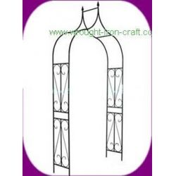 China wrought iron arch, metal gazebo on sale