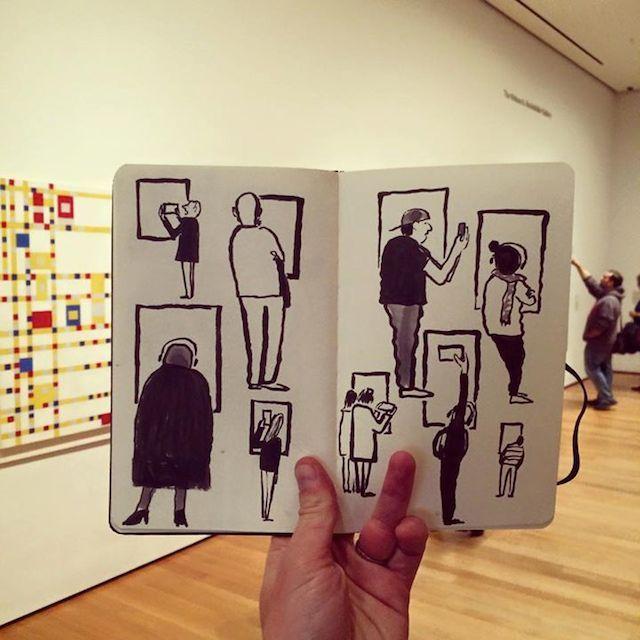 [m] jean jullien - A era digital em ilustrações