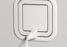 Node Power Outlet Allows Users to Plug In At Every Angle - brilliant!