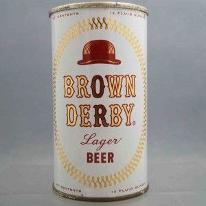 brown derby beer can