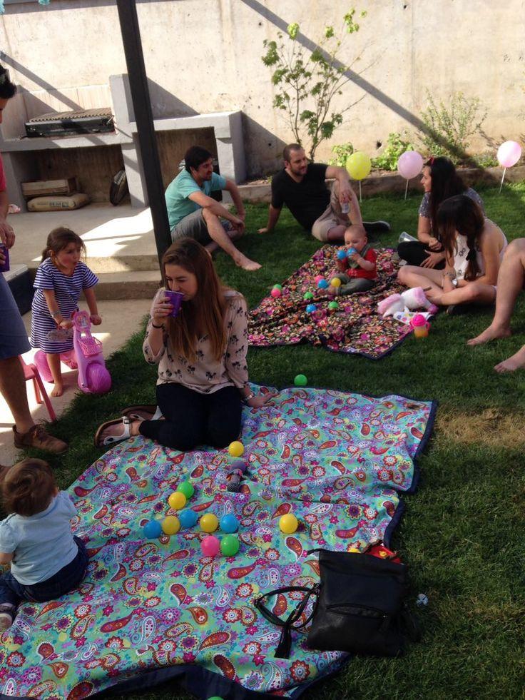 Mantas de picnic