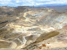 Mina a cielo abierto - Wikipedia, la enciclopedia libre