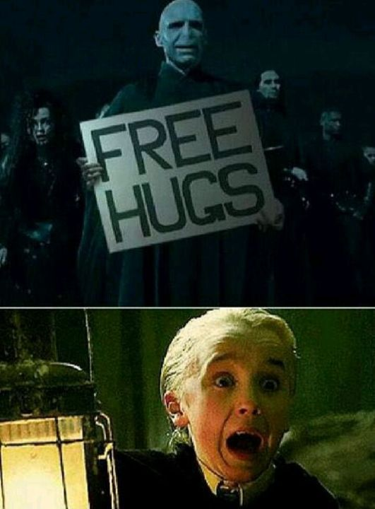 Who wants a free hug from Voldie?