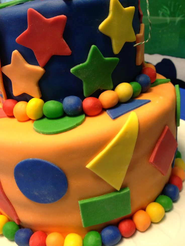 Team Umizoomi Birthday Cake.  Boy birthday.  2nd birthday.  shapes and colors