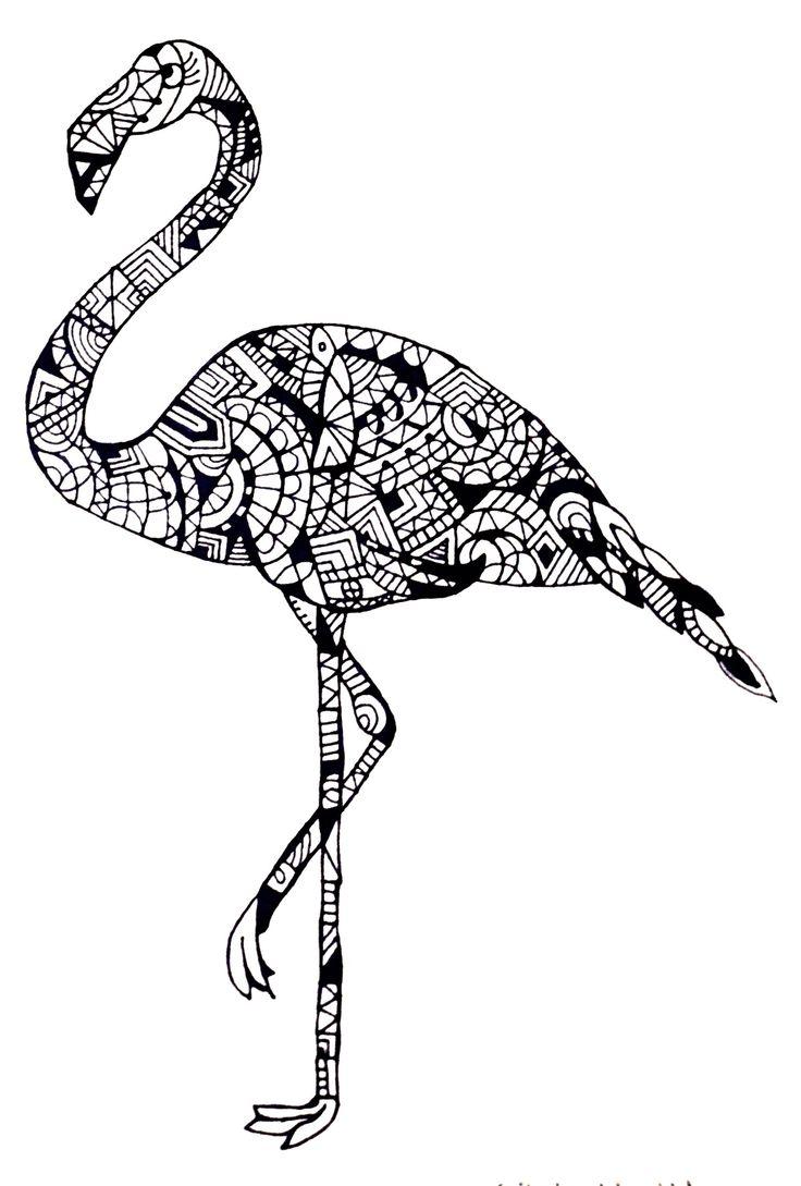 Flamingo by Cecilie Wilsborg 2014