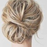12 beautiful updos for short hair