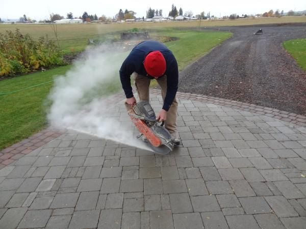 Pavers Patio Concrete Pavers And Smooth On Pinterest
