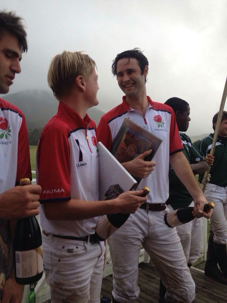 Young England Polo - George Pearson from Cowdray Park Polo  wins Newstead French Method Sparking Wine at the match against Young South Africa Polo at Kurland South Africa.