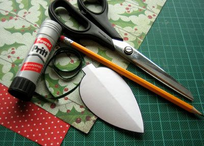 ornamenti di Natale fatti in casa per fare i materiali