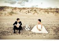 cute for a beach wedding :)