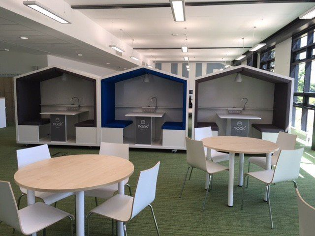 Gallery Nook Mobile Meeting Pod Office Interiors Interior