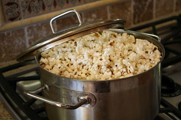 pop your own popcorn on the stove (like we used to do) and no unpronounceable ingredients on a microwave bag