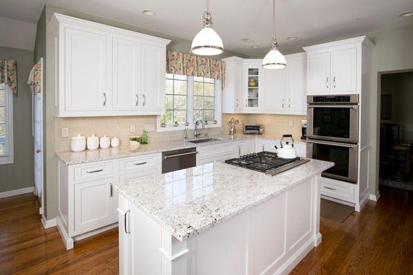 white cabinets in basement   Photo Album: Soft White Transitional Cabinetry - Fairfield CT