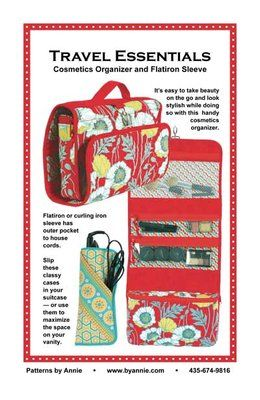 Patterns and supplies for quilters and fabric lovers: Shop | Category: Patterns by Annie | Product: Travel Essentials