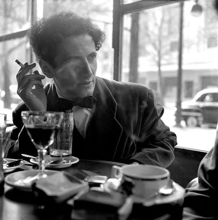 """The Marcel Marceau (1923 - 1927) mime"" Photo- Erich Lessing (Born- Austria, 1923 - ) France - Paris, 1951"