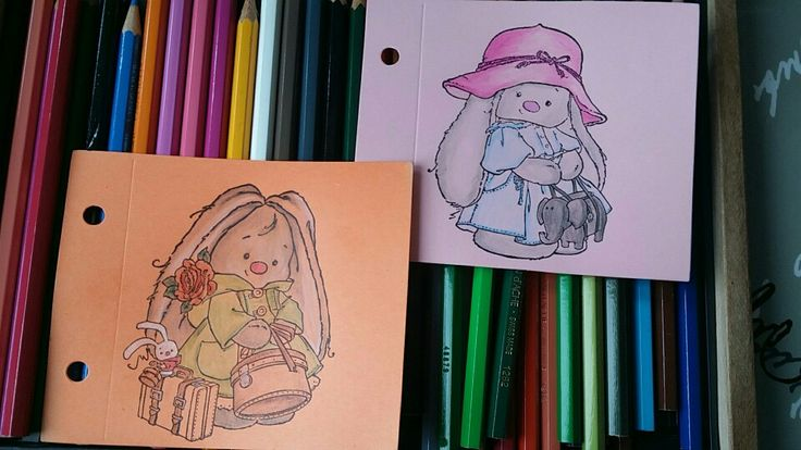 Coloring stamps