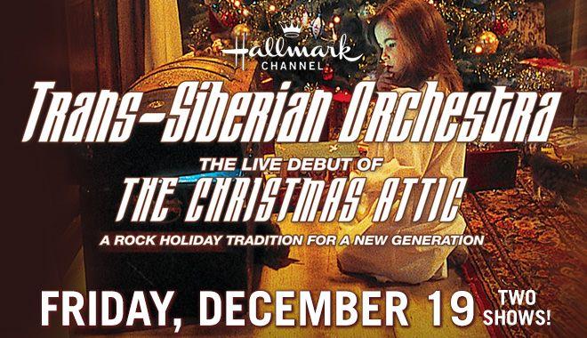 Houston Toyota Center :: TRANS-SIBERIAN ORCHESTRA: THE CHRISTMAS ATTIC