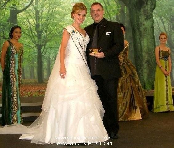 This was the day Simon Rademan got married.  Believe it or not?