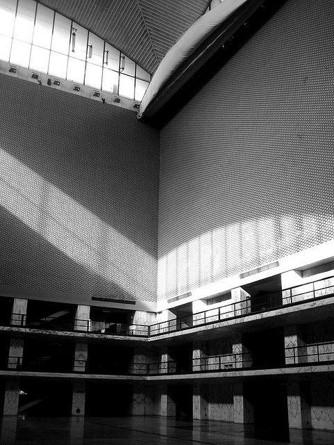 Adalberto Libera, Palazzo dei Ricevimenti e dei Congressi, 1939-54, E.U.R.