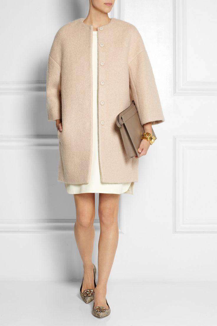 Giambattista Valli|Felted cocoon coat|NET-A-PORTER.COM