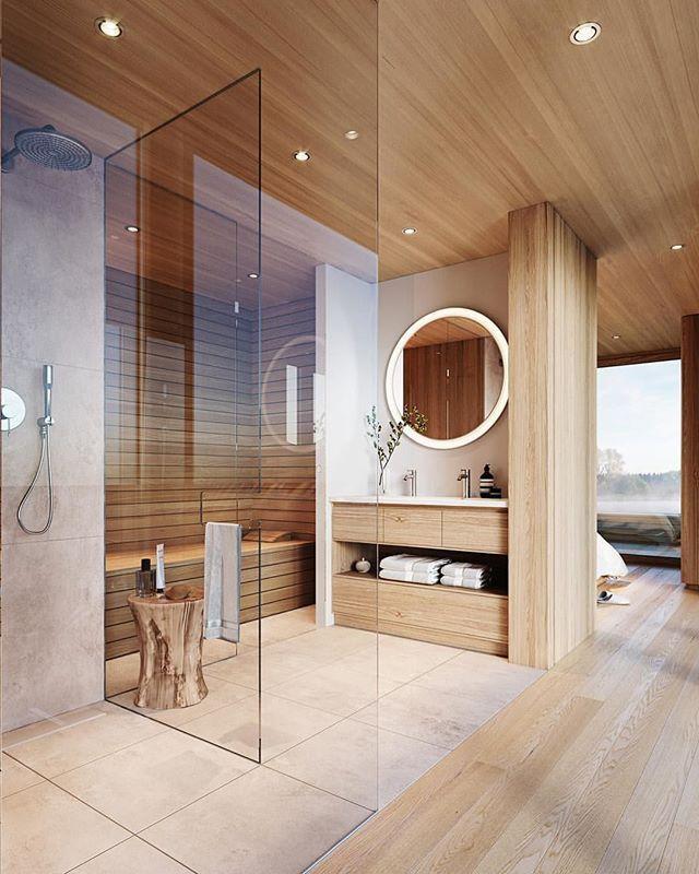 Modern Bathroom by xoio GmbH 😍