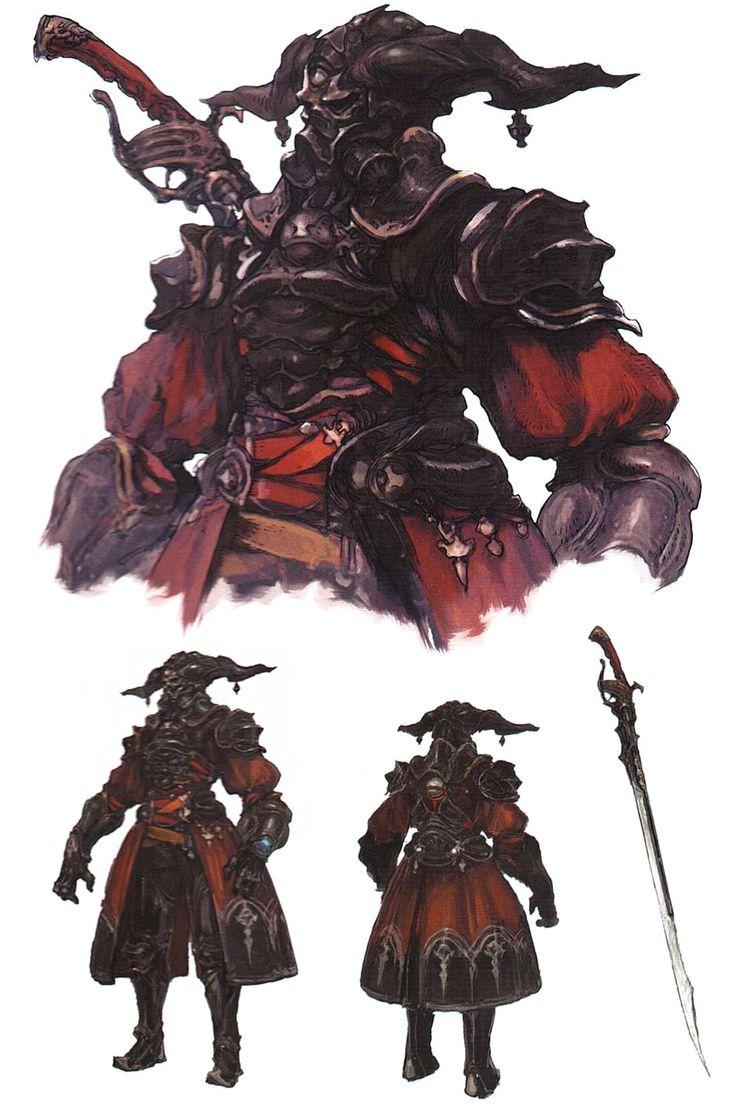 Xenogears Character Design : Final fantasy xiv a realm reborn gaius van baelsar