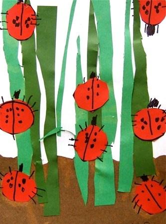 Ladybugs by Kinders Artsonia Art Museum :: Artwork by josephine90