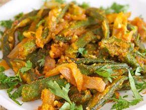 Crispy Bhindi Fry (Okra Fry)